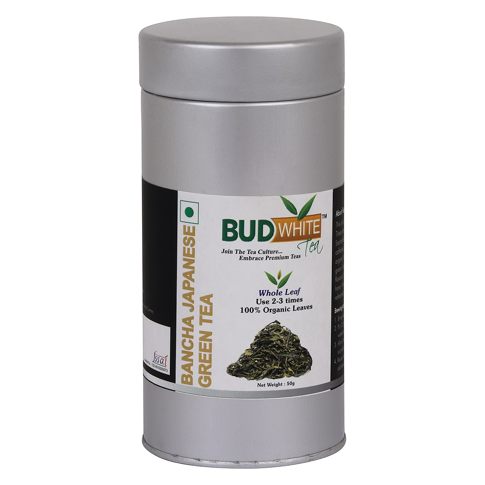 Bancha Japanese Organic Whole Leaf Green Tea