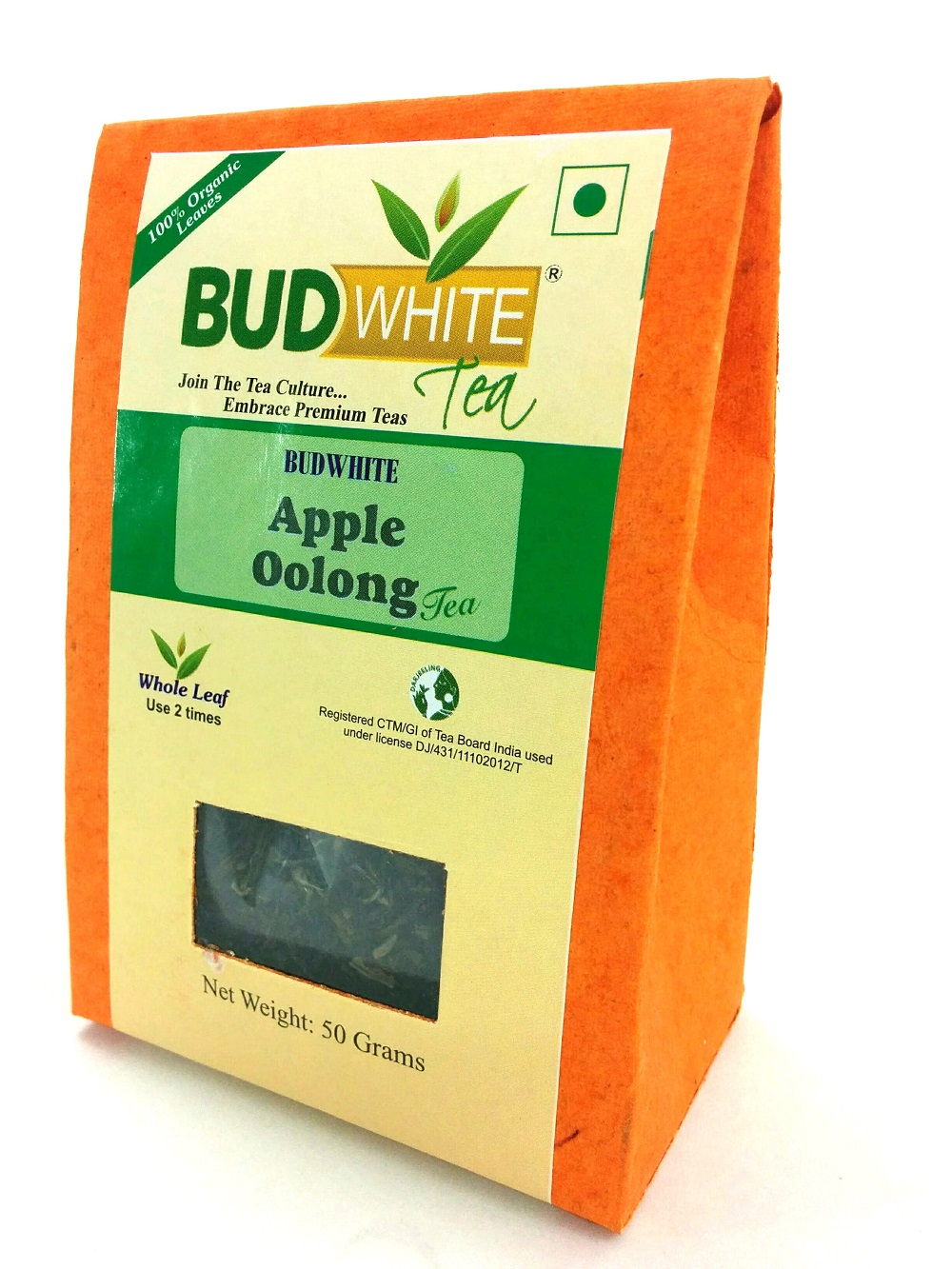 Apple Oolong Organic Whole Leaf Tea