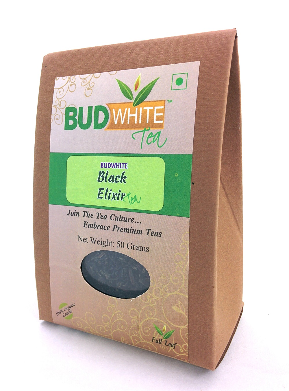 Black Elixir Organic Whole Leaf Tea