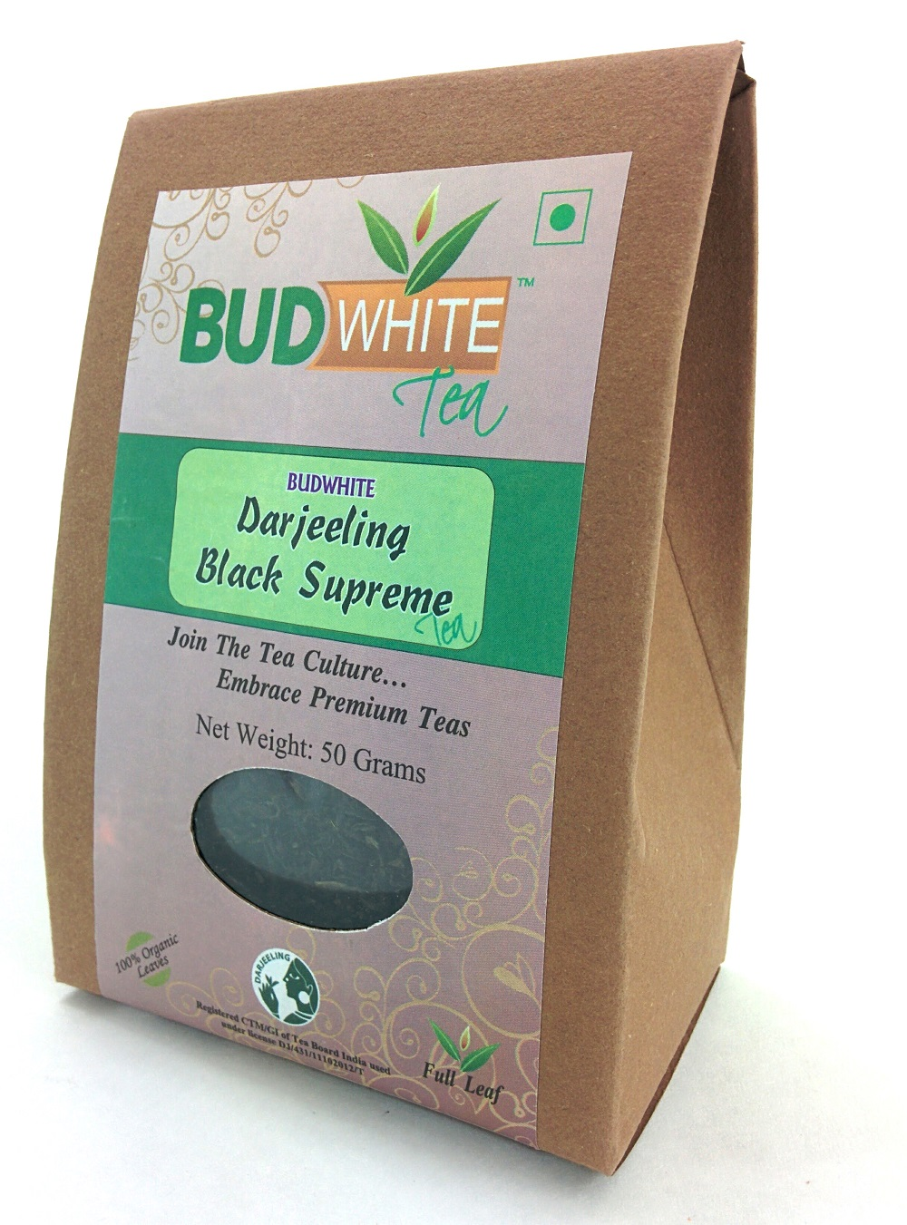 DARJEELING BLACK SUPREME TEA - 50 Gram