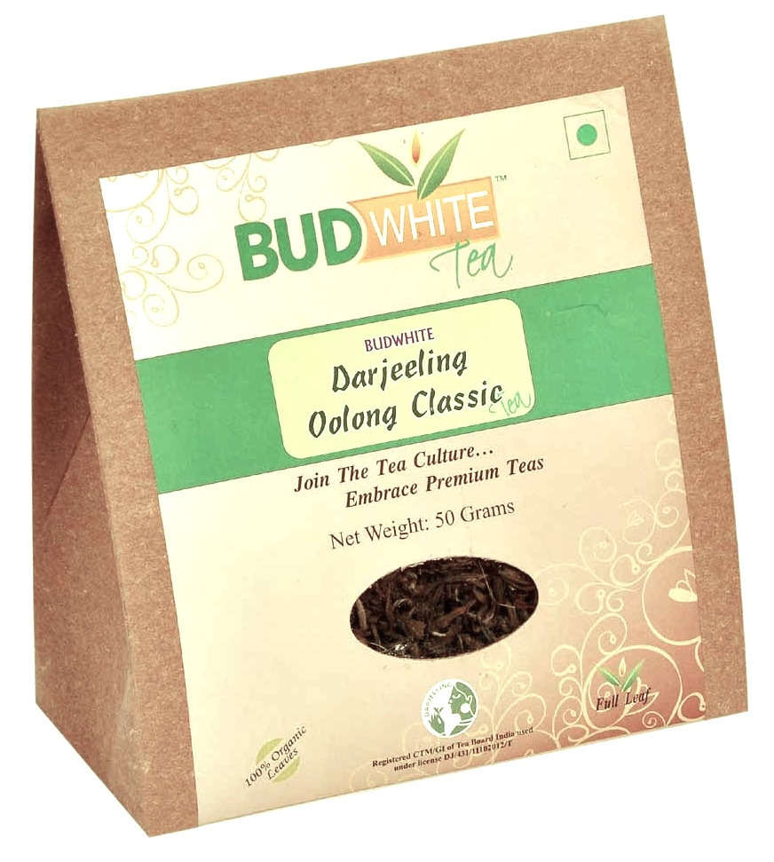 Darjeeling Oolong Classic Organic Whole Leaf Tea