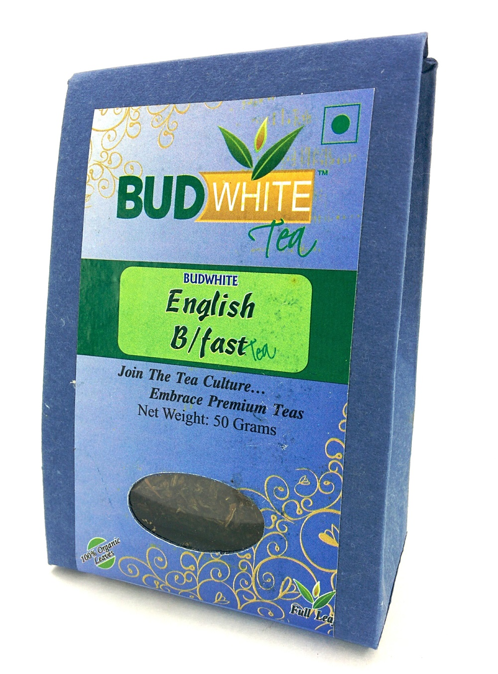 English Breakfast Organic Whole Leaf Tea