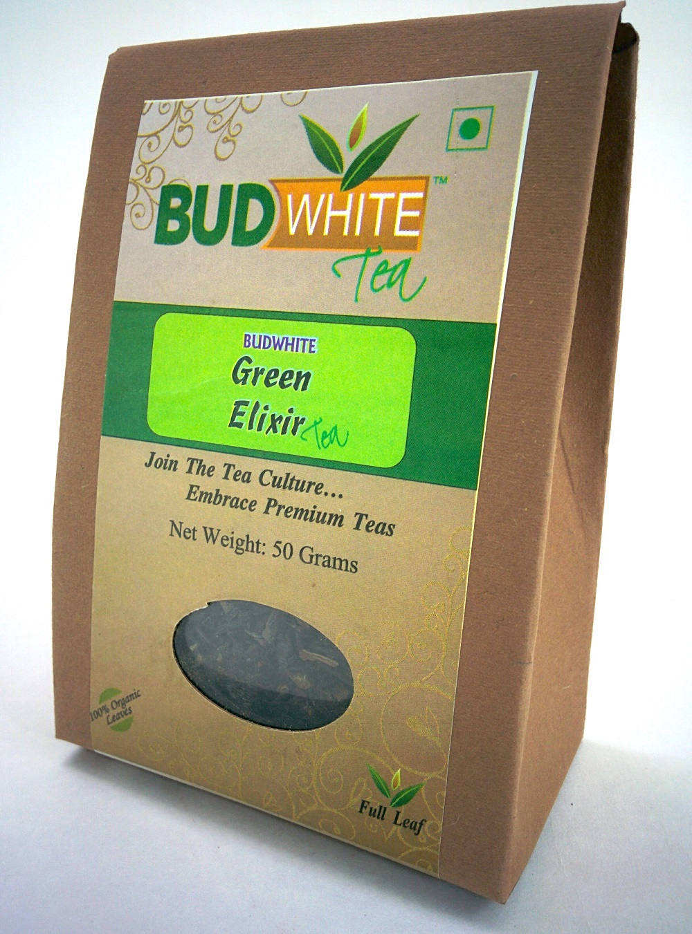 Green Elixir Organic Whole Leaf Tea