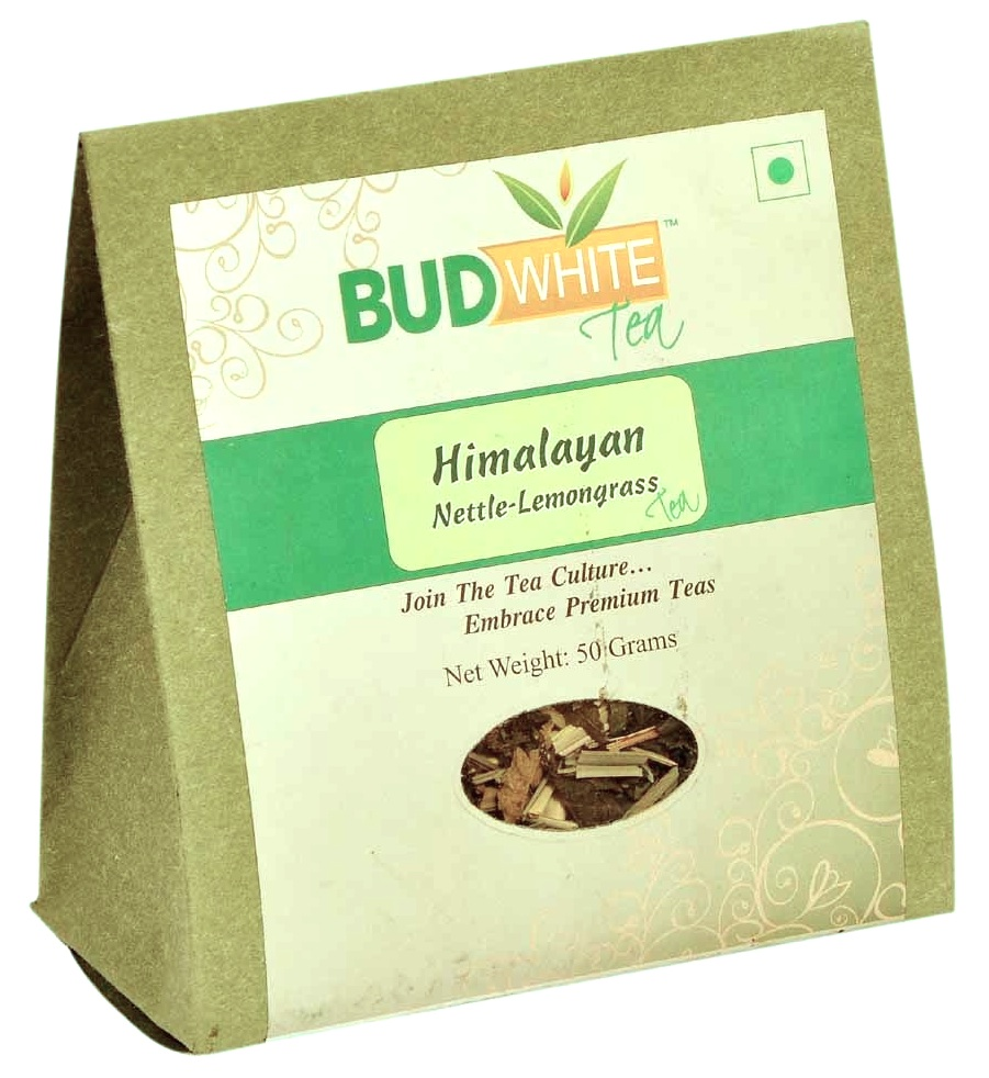 Himalayan Nettle Lemongrass Organic Herbal Caffeine-free Tea