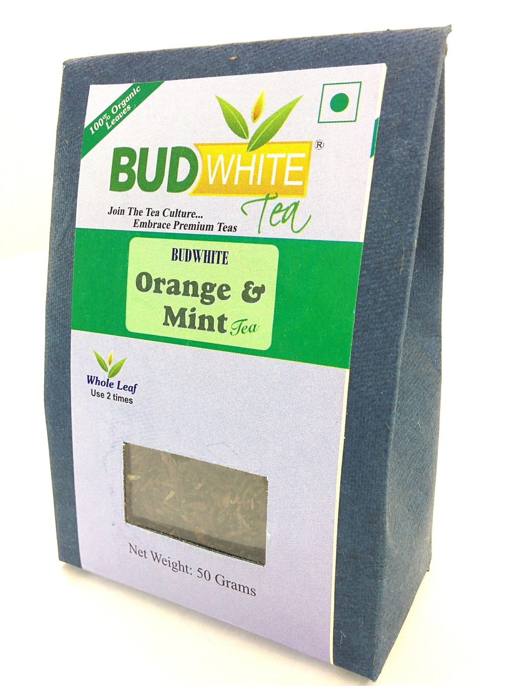 Orange Mint Black Organic Whole Leaf Tea