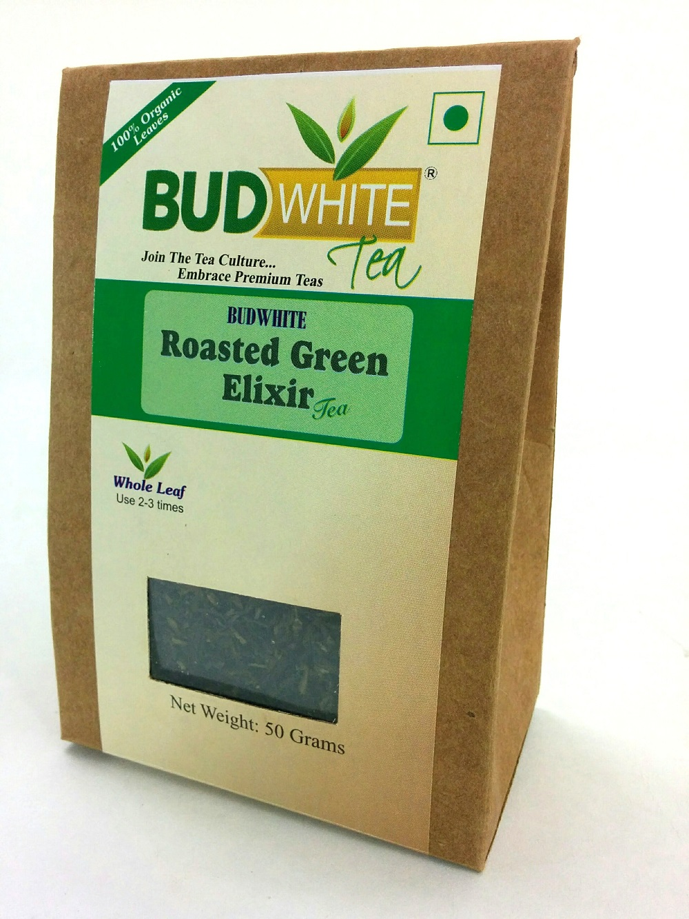Roasted Green Elixir Organic Whole Leaf Tea